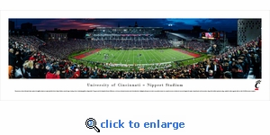 Cincinnati Bearcats Football - Panoramic Photo (13.5 x 40)