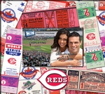 Cincinnati Reds 8 x 8 Scrapbook - Ticket & Photo Album