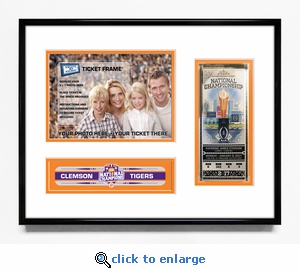 Clemson Tigers 2016 Football National Champions 5x7 Photo Ticket Frame