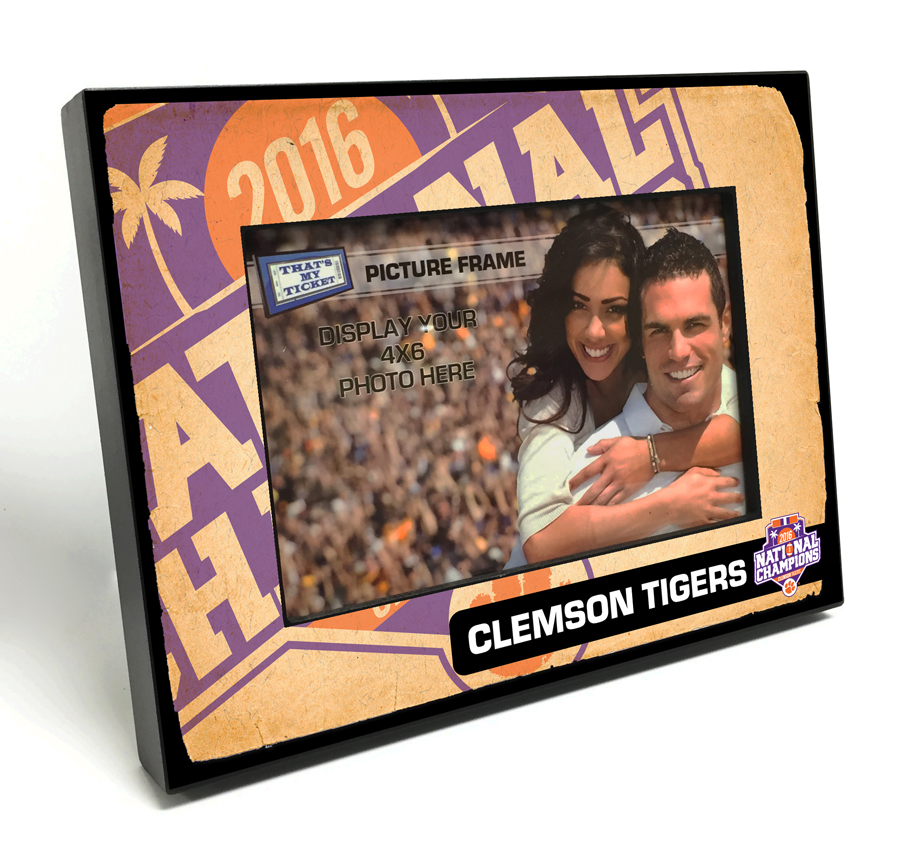 NCAA 4x6 Picture Frames