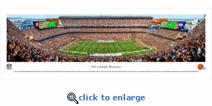 Cleveland Browns - Panoramic Photo (13.5 x 40)