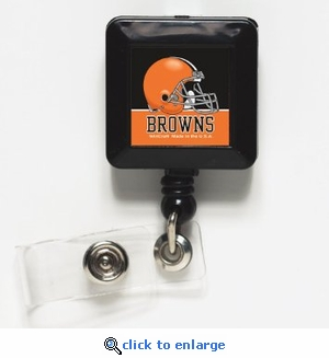 Cleveland Browns Retractable Ticket Badge Holder