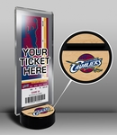 Cleveland Cavaliers Ticket Display Stand