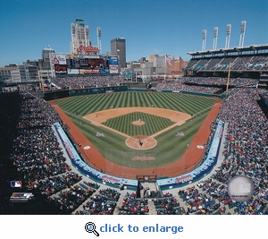 Cleveland Indians 2006 Opening Day Progressive Field 8x10 Photo