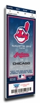Cleveland Indians Personalized Commemorative Mega Ticket