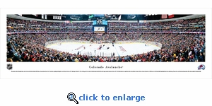 Colorado Avalanche - Panoramic Photo (13.5 x 40)