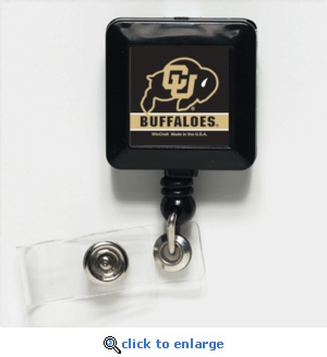 Colorado Buffaloes Retractable Ticket Badge Holder