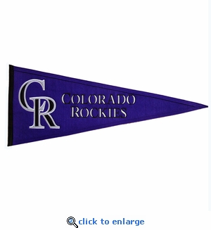 Colorado Rockies Traditions Wool Pennant (13 x 32)