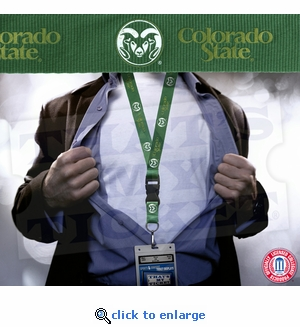 Colorado State Rams NCAA Lanyard Key Chain and Ticket Holder