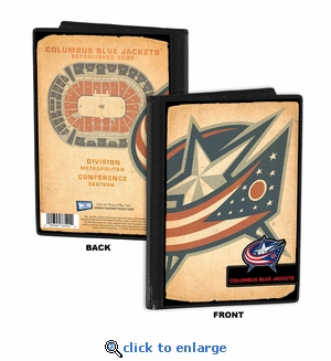 Columbus Blue Jackets 4x6 Photo Album / Brag Book