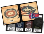 Columbus Blue Jackets Ticket Album