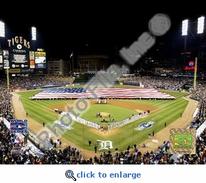 Comerica Park Game 1 of 2006 World Series 8x10 Photo