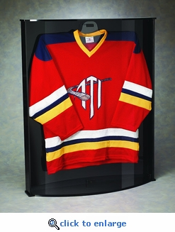 Curved Sports Jersey Case Display