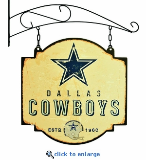 Dallas Cowboys 16 X 16 Metal Tavern / Pub Sign