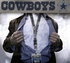 Dallas Cowboys NFL Lanyard Key Chain and Ticket Holder - Silver