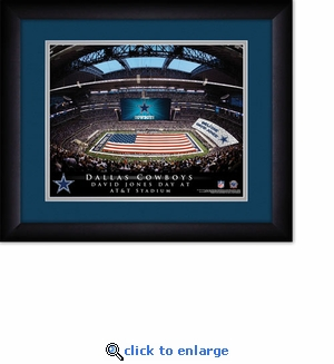 Dallas Cowboys Personalized AT&T Stadium Print