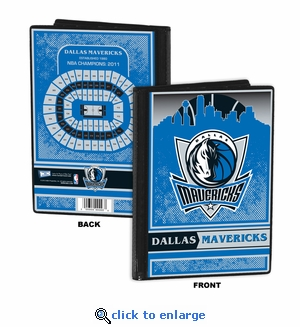 Dallas Mavericks 4x6 Photo Album / Brag Book