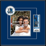 Dallas Mavericks 8x10 Photo Ticket Frame