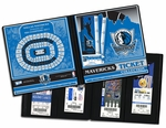 Dallas Mavericks Ticket Album