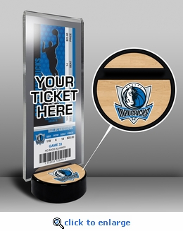 Dallas Mavericks Ticket Display Stand