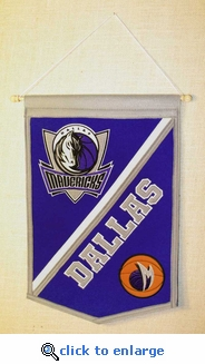 Dallas Mavericks Traditions Wool Banner (12 x 18)