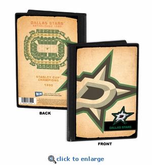 Dallas Stars 4x6 Photo Album / Brag Book