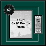 Dallas Stars 8x10 Photo Ticket Frame
