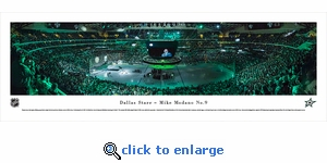 Dallas Stars - Mike Modano - Panoramic Photo (13.5 x 40)