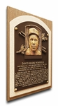 Dave Winfield Baseball Hall of Fame Plaque on Canvas - San Diego Padres