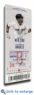 David Ortiz Number Retirement (6/23/17) Canvas Mega Ticket - Red Sox
