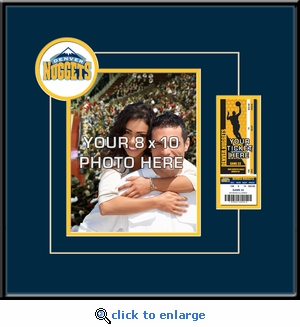 Denver Nuggets 8x10 Photo Ticket Frame