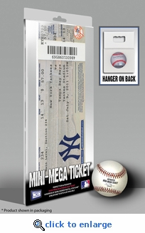 Derek Jeter 3,000 Hits Mini-Mega Ticket - New York Yankees