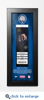 Derek Jeter Night (5/14/17) Framed Ticket Print - New York Yankees