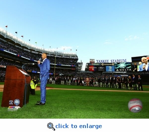 Derek Jeter Night (5/14/17) Retirement Speech 8x10 Photo - New York Yankees