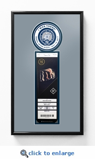 Derek Jeter Night (5/14/17) Single Ticket Frame - New York Yankees