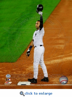 Derek Jeter Tips Cap 8x10 Photo - New York Yankees
