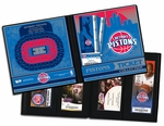Detroit Pistons Ticket Album
