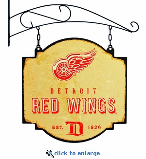 Detroit Red Wings 16 X 16 Metal Tavern / Pub Sign