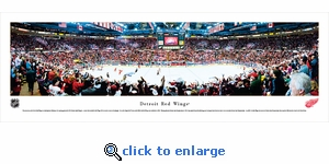 Detroit Red Wings - Panoramic Photo (13.5 x 40)