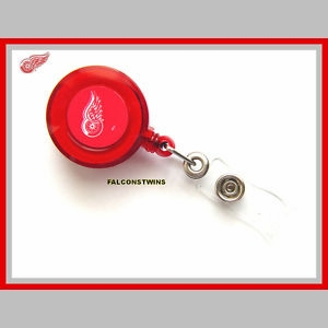 Detroit Red Wings Retractable Ticket Badge Holder