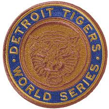 Detroit Tigers 1968 World Series Champions Commemorative Embroidered Patch