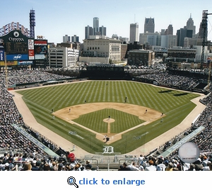 Detroit Tigers 2005 Opening Day Comerica Park 8x10 Photo