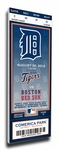 Detroit Tigers Personalized Commemorative Mega Ticket