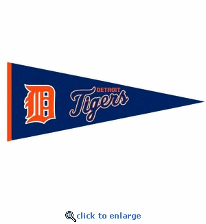 Detroit Tigers Traditions Wool Pennant (13 x 32)