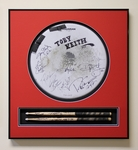 Drum Head & Drumstick Frame Display