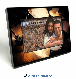 Drum Set 4x6 inch Table Top Picture Frame