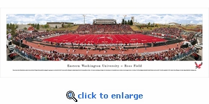 Eastern Washington Eagles Football - Panoramic Photo (13.5 x 40)
