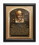 Eddie Murray Baseball Hall of Fame Plaque Framed Print - Baltimore Orioles