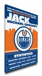 Edmonton Oilers Personalized Canvas Birth Announcement - Baby Gift