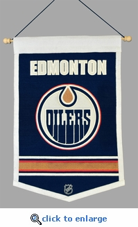 Edmonton Oilers Traditions Wool Banner (12 x 18)
